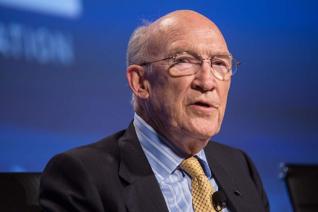 U. S. Senator Alan Simpson