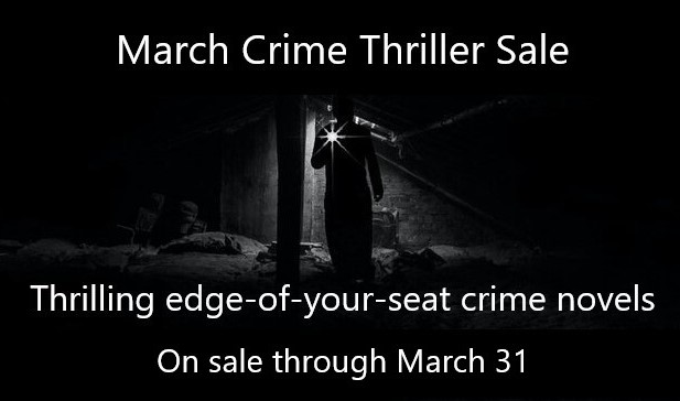 March Crime Thriller Sale